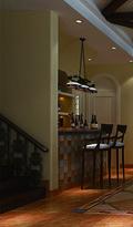 20万以上140平米别墅田园风格楼梯设计图