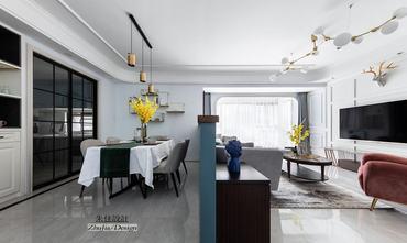10-15万120平米三室一厅混搭风格餐厅装修效果图