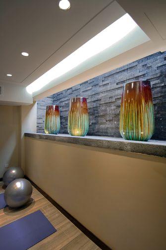 120平米三中式风格健身室设计图