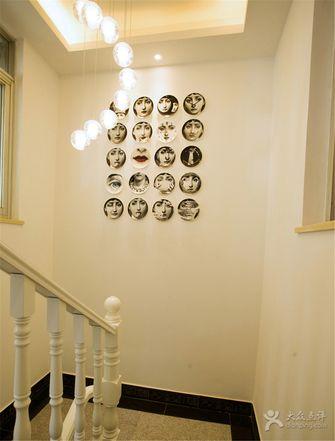 经济型100平米三室一厅现代简约风格楼梯装修图片大全