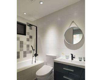 90平米三室两厅现代简约风格卫生间装修效果图