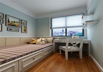 130平米三室两厅田园风格儿童房装修图片大全