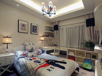 50平米一室两厅地中海风格卧室图片