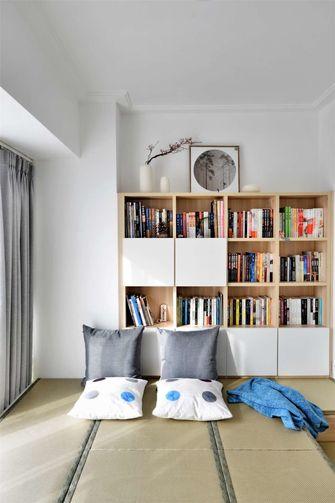 50平米公寓北欧风格书房图