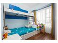 经济型110平米四室两厅英伦风格儿童房装修效果图