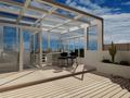 140平米四室三厅现代简约风格阳光房效果图