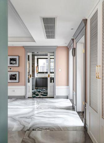 140平米三室两厅美式风格玄关图片大全