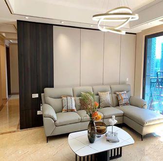 140平米四室两厅现代简约风格客厅图片大全