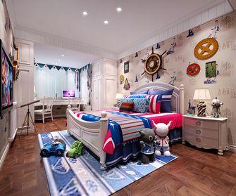 140平米别墅美式风格卧室设计图