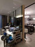 富裕型140平米三室两厅英伦风格衣帽间图