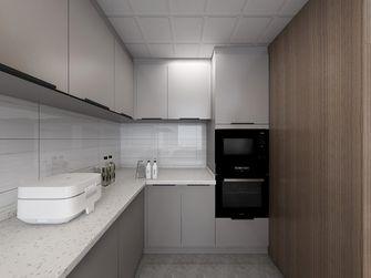 140平米三室两厅现代简约风格厨房图片