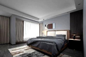 120平米三现代简约风格卧室装修案例