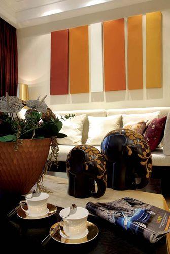 110平米三室两厅东南亚风格玄关效果图