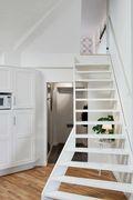 70平米北欧风格阁楼装修案例
