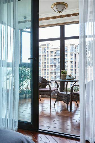 90平米三室两厅美式风格阳台效果图