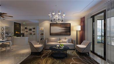 经济型90平米三室两厅北欧风格客厅图片大全