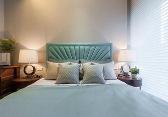 80平米三室一厅现代简约风格卧室设计图
