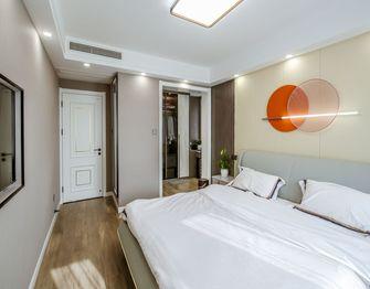 110平米三室一厅现代简约风格卧室装修图片大全