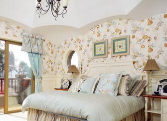 经济型140平米四室三厅英伦风格卧室装修案例