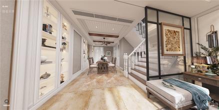 140平米别墅东南亚风格楼梯间图