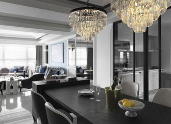 120平米三室一厅美式风格厨房装修图片大全