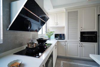 100平米三室两厅混搭风格厨房图