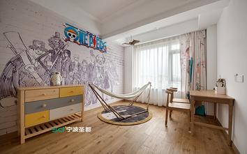 120平米三室两厅日式风格健身室图片大全