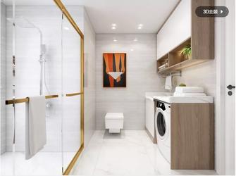 130平米三室两厅法式风格卫生间装修案例