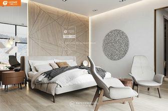 经济型140平米别墅现代简约风格卧室图片大全