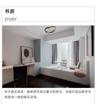 140平米四室两厅现代简约风格书房效果图