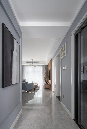 80平米三室两厅北欧风格玄关装修效果图