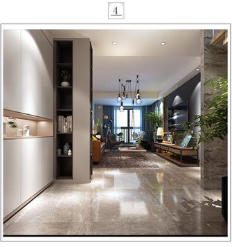 110平米三室一厅混搭风格其他区域装修案例