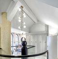 140平米三室一厅美式风格储藏室设计图