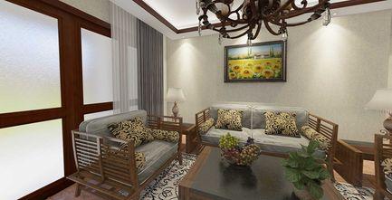 120平米三东南亚风格客厅图片大全