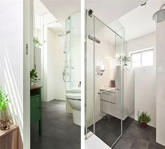 90平米一室一厅日式风格卫生间图片