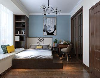 110平米三室一厅中式风格卧室装修效果图