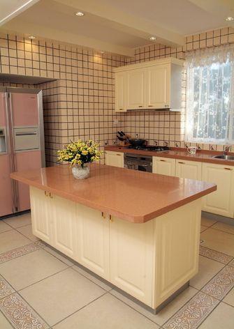 经济型140平米三室三厅田园风格厨房效果图