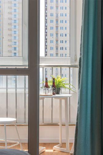 80平米现代简约风格阳台效果图