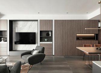 110平米三室三厅现代简约风格客厅装修图片大全