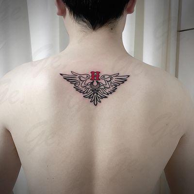 图腾&字母纹身款式图