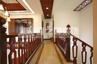 富裕型140平米别墅东南亚风格楼梯图