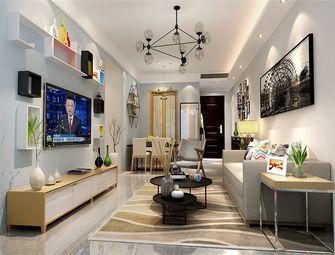 140平米三室两厅混搭风格客厅效果图