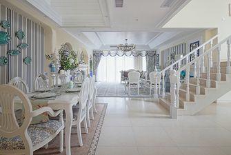 富裕型140平米复式地中海风格楼梯效果图