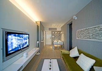 经济型70平米一室两厅宜家风格客厅图
