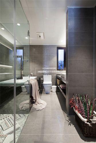 140平米四室两厅北欧风格卫生间欣赏图