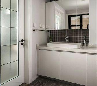 经济型100平米三室一厅混搭风格卫生间装修案例