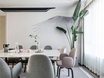 120平米三室两厅田园风格餐厅装修案例