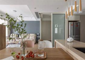 90平米三室兩廳現代簡約風格餐廳欣賞圖