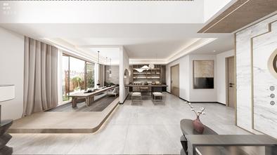 140平米三室三厅中式风格客厅设计图
