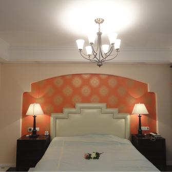 140平米三宜家风格卧室欣赏图